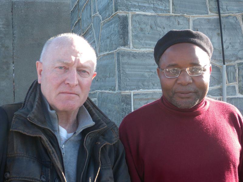 Meeting Ntando, former Robben Island inmate