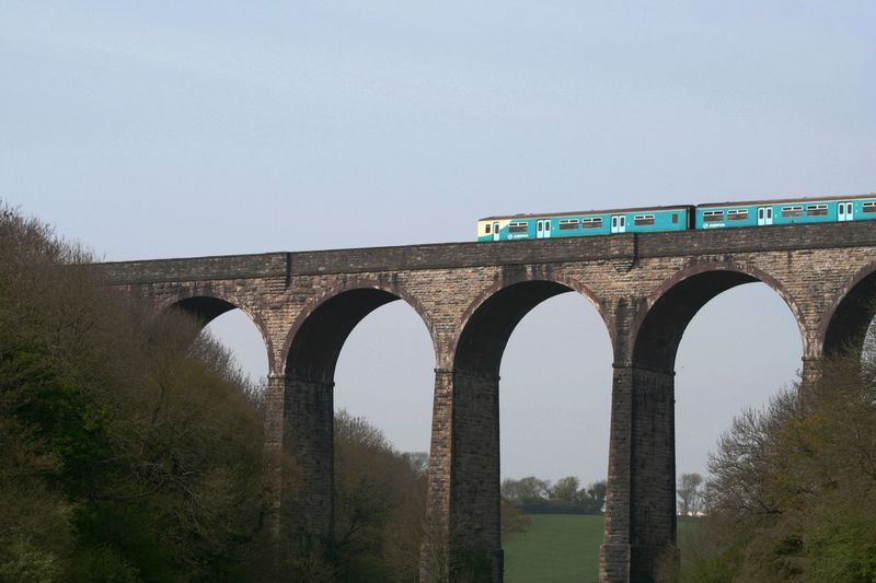 Trainviaduct