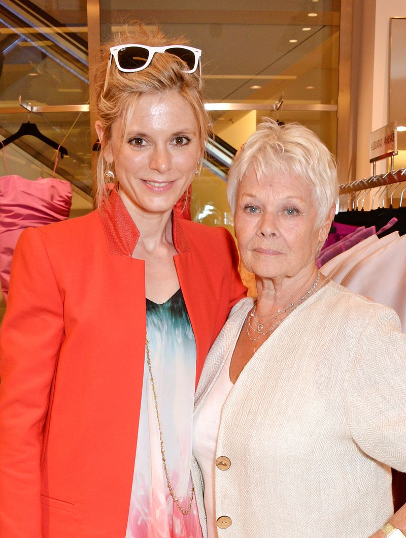 Emilia Fox and Judi Dench (2)