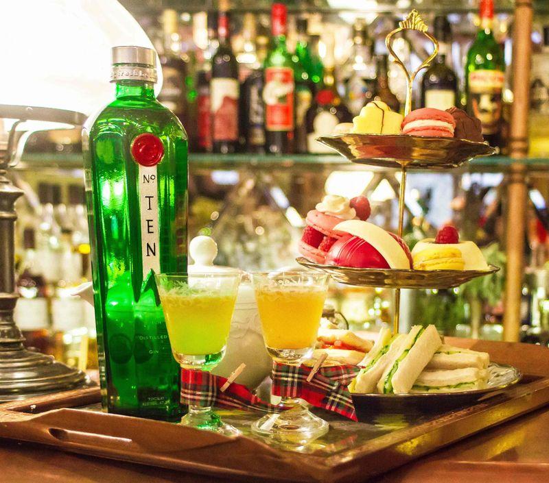 Mr Foggs Tipsy Tea Tanqueray Ten Gin Cocktails