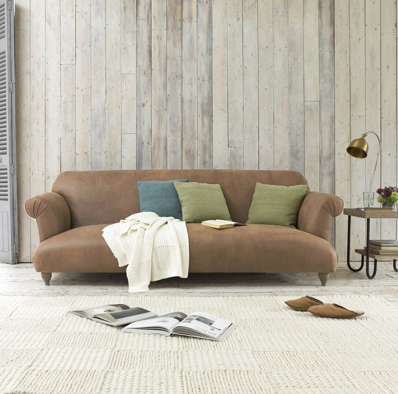 Loaf - Souffle leather sofa from £1795 high-res1