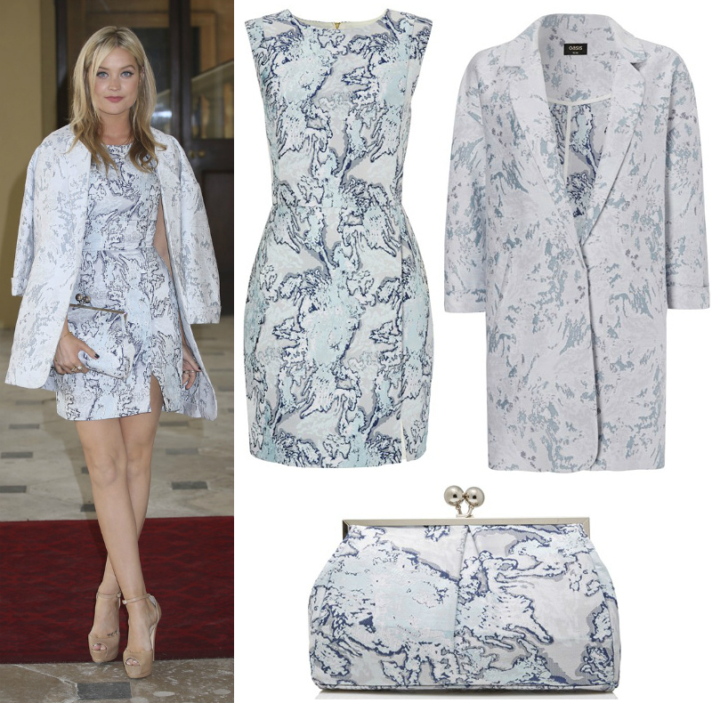 Laura whitmore buckingham palace oasis outfit