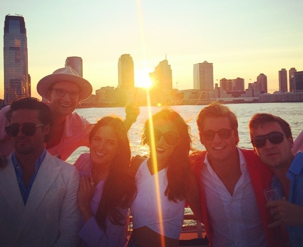 Me and the Team by the East River