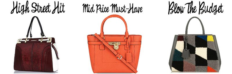 Tote bag river island michael kors fendi