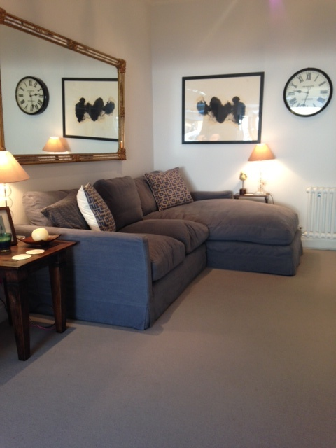 Sofa And The White Company As Before Mirror Lots Road Auctions Ink Splodge Painting Allposterscouk Wall Clock John Lewis