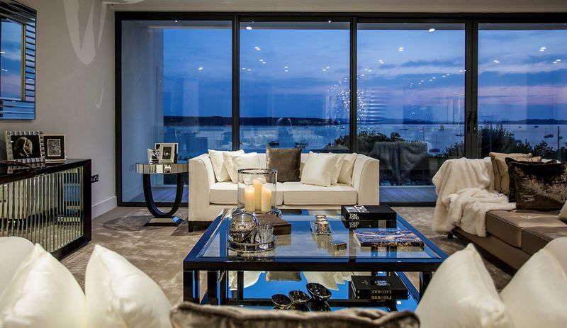 Vanquish Living Room View