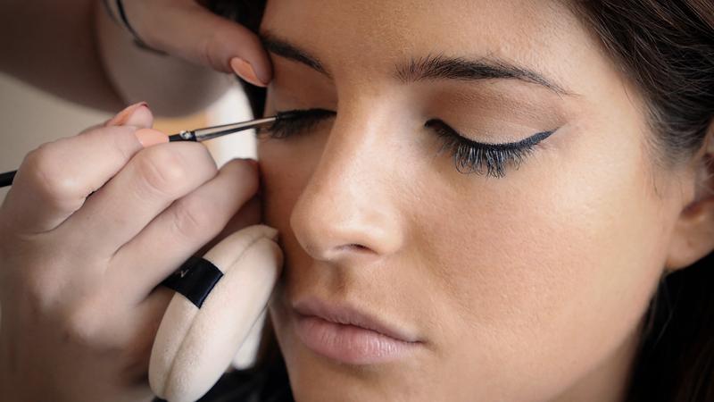 Binky eye makeup