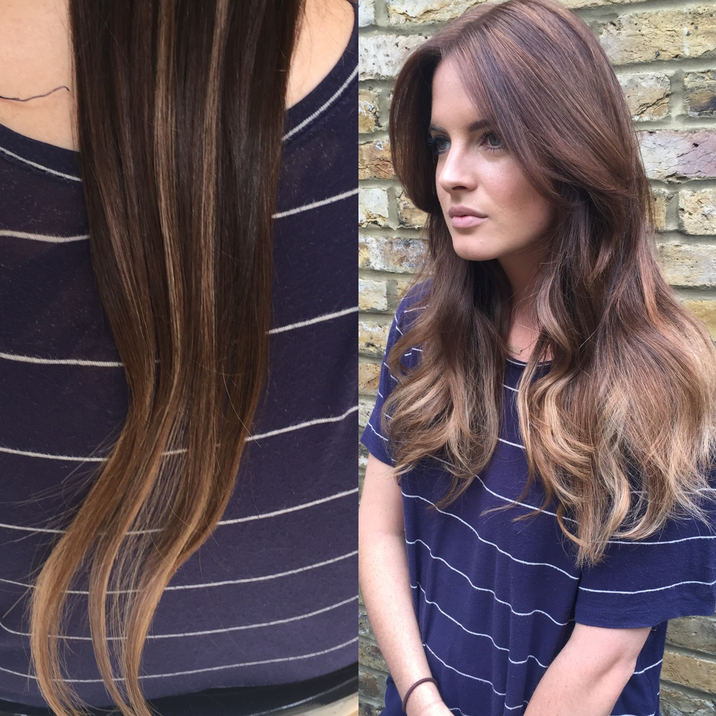 How to get the khloe kardashian balayage look for your hair but i decided to ditch the bleach all together and just used easilocks hair extensions to create the look it is often created with highlights and lowlights pmusecretfo Image collections