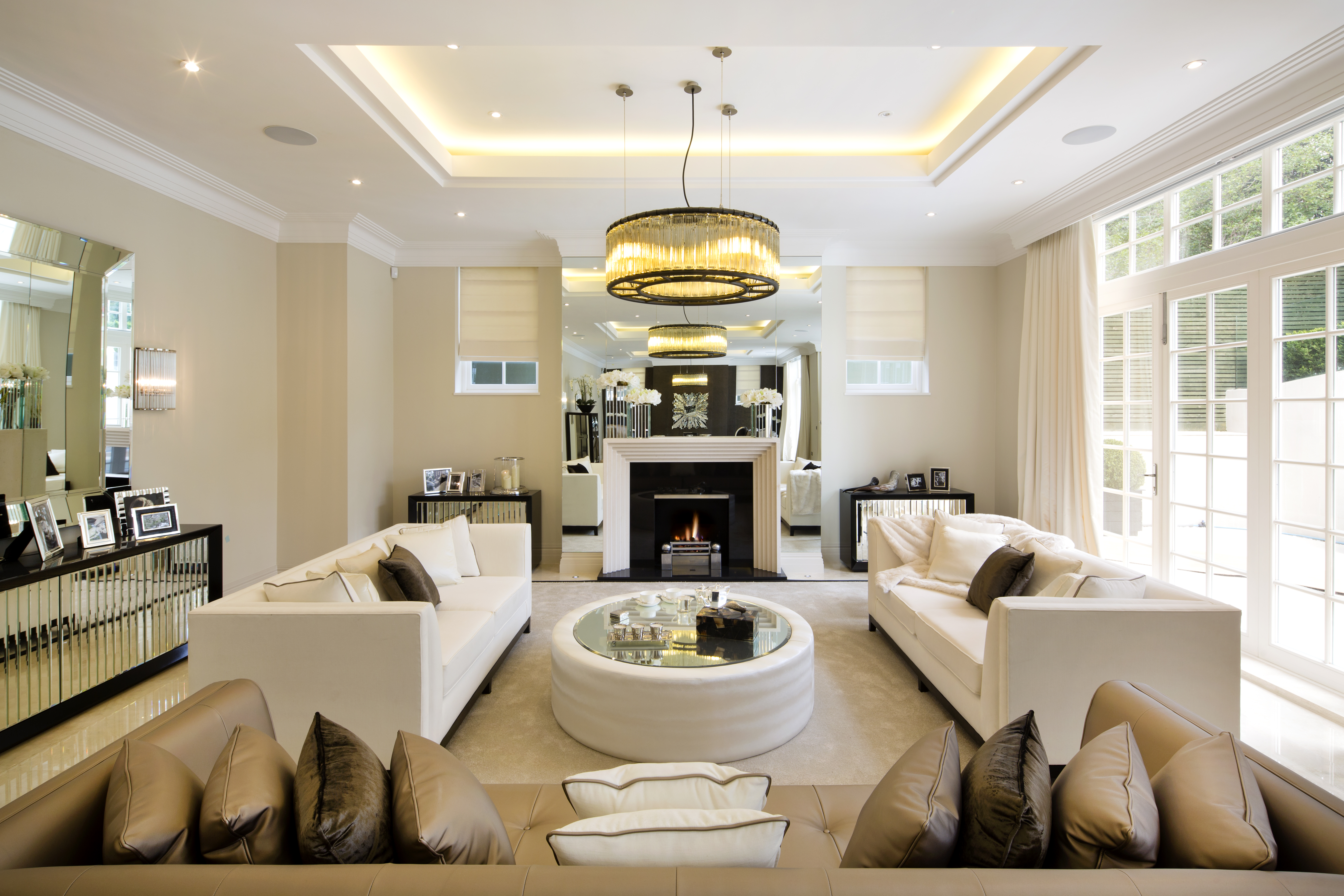 Your Hallway And Living Room Can Have Bright Chandeliers Or Hanging Lights To Mark The Entrance