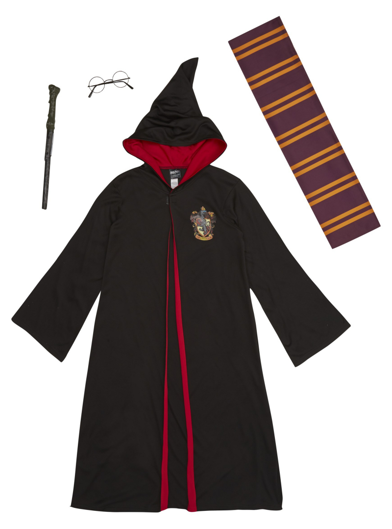 George at Asda Harry Potter fancy dress outfit for World Book Day - 2nd Marcuh 2017.  Sizes 5-12years.  Price from -ú14