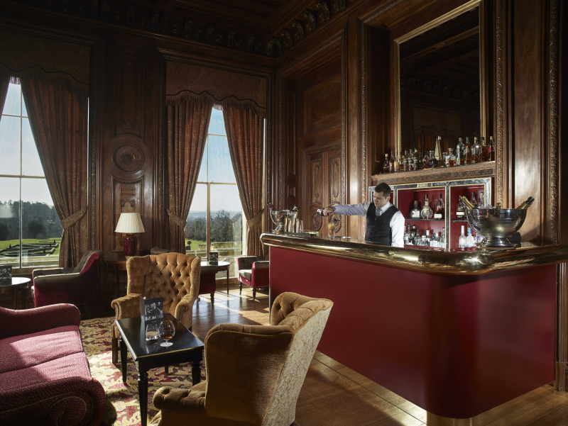 Cliveden - Interior Shot - Library and Bar (1)