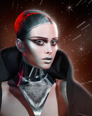 Max Factor Captain Chrome inspired by Star Wars
