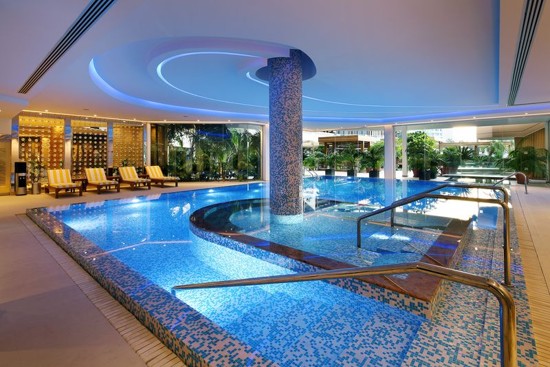 9. indoor pool