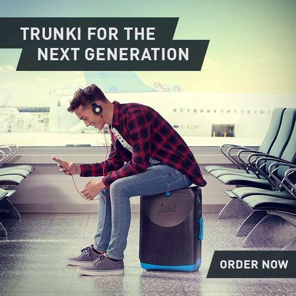 Jurni from Trunk carry on case for teen travellers.html