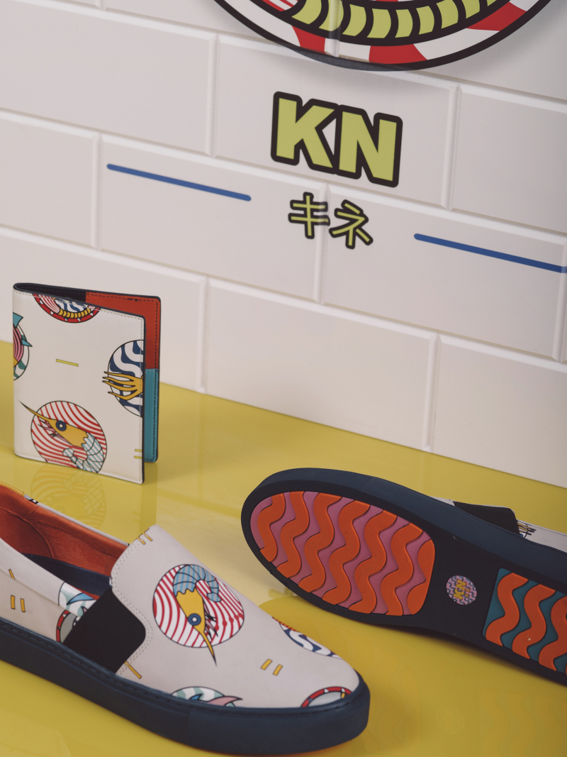Kit Neale X Dune London Snapper 130 GBP and Trigger 65 GBP lifestyle