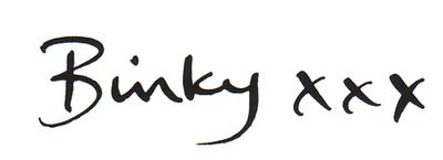 Binky signature