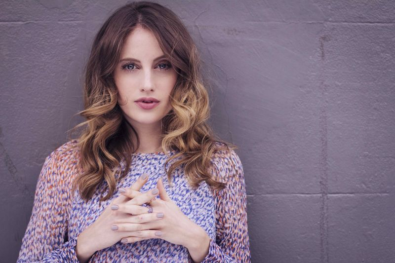 Rosie Fortescue with Nailed London Noodle Nude