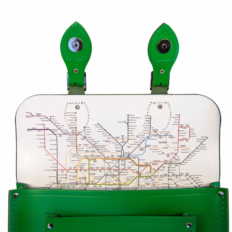 Green-Small-Satchel-open