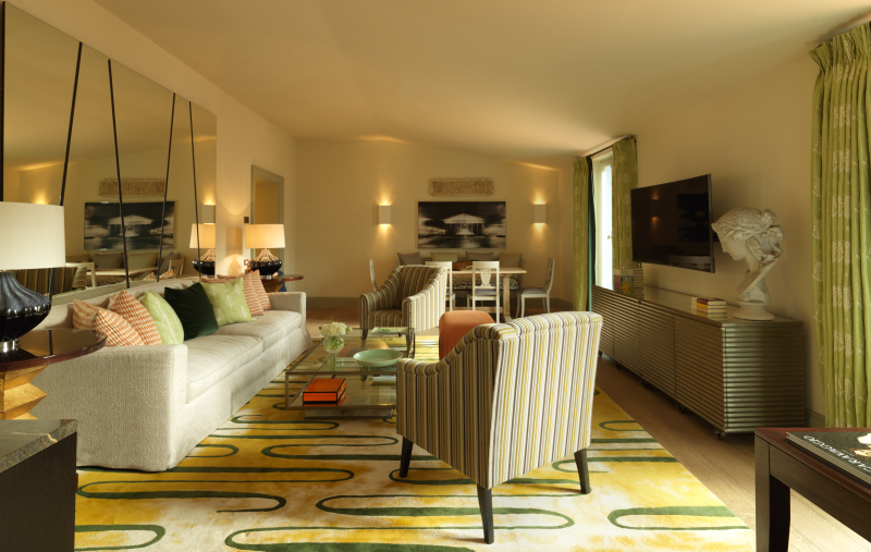 RFH Hotel de Russie - Popolo Suite - Sitting room from bedroom