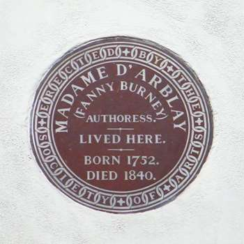 Burney-fanny-plaque