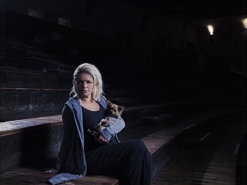 Hannah Spearritt  star of I Dog  shot by Rich Hendry