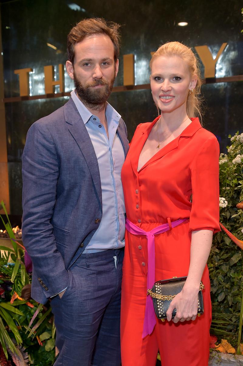 Neelam Gill  Caroline Flack  Jack Guinness and Lara Stone
