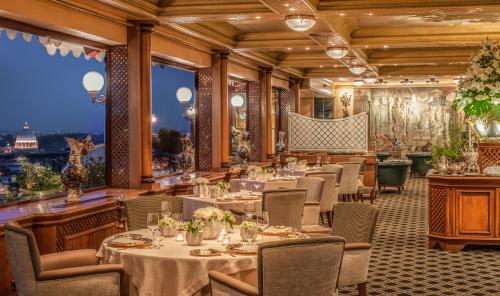Rome Cavalieri - La Pergola - First and only 3 star Michelin restaurant in Rome
