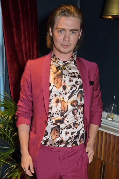 Ryan Riley attends the launch of private members' club Christabel's.