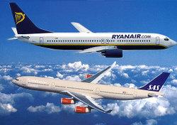 Ryanair_vs_sas